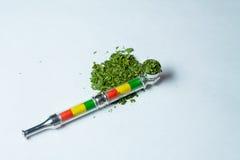 Manciata di marijuana medica della cannabis Immagine Stock Libera da Diritti