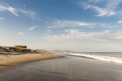 Mancora, beach and surf town in Peru Royalty Free Stock Images