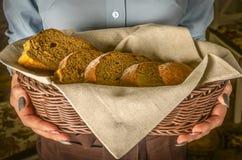 Mand brood stock afbeeldingen