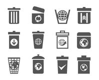 Mand een icon2 Royalty-vrije Stock Foto's