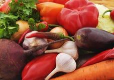 Mand met verse groenten royalty-vrije stock fotografie