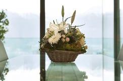 Mand van bloemen Royalty-vrije Stock Afbeelding