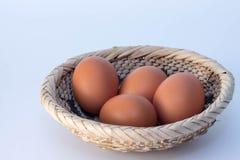 Mand van eieren Stock Fotografie