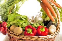 Mand van groenten royalty-vrije stock afbeelding