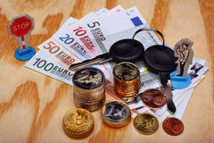 Mandaat in Europa royalty-vrije stock foto