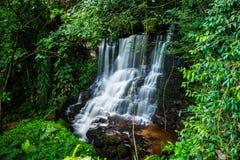 Mandaeng Таиланд водопада, человек Daeng Стоковые Изображения