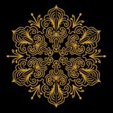 Mandal Design Vector Image royalty free illustration