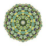 Mandala árabe exquisita ilustración del vector