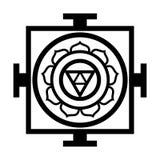 Mandala â€' mapa Wszechrzeczy Orientalny Sakralny Religijny symbol Fotografia Stock