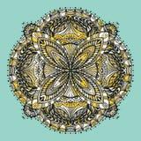 mandala Éléments décoratifs de cru Image libre de droits