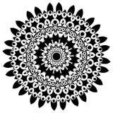mandala Éléments décoratifs ethniques Éléments décoratifs de cru Illustration orientale de modèle L'Islam, l'arabe, Indien, turc, Photographie stock libre de droits