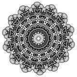 mandala Éléments décoratifs ethniques Éléments décoratifs de cru Illustration orientale de modèle L'Islam, l'arabe, Indien, turc, Photo stock