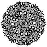 mandala Éléments décoratifs ethniques Éléments décoratifs de cru Illustration orientale de modèle L'Islam, l'arabe, Indien, turc, Image stock