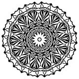 mandala Éléments décoratifs ethniques Éléments décoratifs de cru Illustration orientale de modèle L'Islam, l'arabe, Indien, turc, Photographie stock