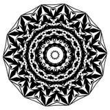 mandala Éléments décoratifs ethniques Éléments décoratifs de cru Illustration orientale de modèle L'Islam, l'arabe, Indien, turc, Image libre de droits