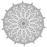 mandala Éléments décoratifs ethniques Éléments décoratifs de cru Illustration orientale de modèle L'Islam, l'arabe, Indien, turc, Photos stock