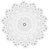 mandala Éléments décoratifs ethniques Éléments décoratifs de cru Illustration orientale de modèle L'Islam, l'arabe, Indien, turc, Images libres de droits