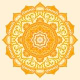 mandala Éléments décoratifs ethniques Image libre de droits