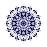 mandala Éléments décoratifs ethniques Fond tiré par la main L'Islam, l'arabe, Indien, motifs de tabouret Photos stock