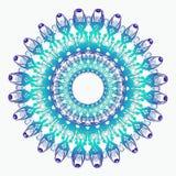 Mandala étnica del trullo Fotos de archivo