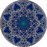 Mandala étnica floral Imagenes de archivo