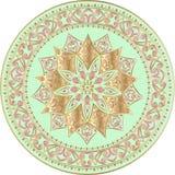 Mandala étnica floral Fotografía de archivo