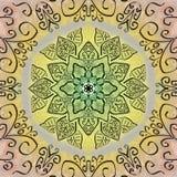 mandala διανυσματική απεικόνιση