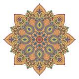 Mandala ή κυκλικό floral σχέδιο Στοκ φωτογραφίες με δικαίωμα ελεύθερης χρήσης