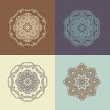 Mandala, ανατολική διακόσμηση ball color crystal illustration magic set vector Στοκ φωτογραφία με δικαίωμα ελεύθερης χρήσης