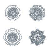 Mandala, ανατολική διακόσμηση ball color crystal illustration magic set vector Στοκ Εικόνα