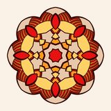 mandala Δημιουργική κυκλική διακόσμηση Στοκ Εικόνες