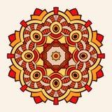 mandala Δημιουργική κυκλική διακόσμηση Στοκ Φωτογραφία