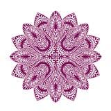 mandala Διακοσμητική εθνική floral διακόσμηση επίσης corel σύρετε το διάνυσμα απεικόνισης ελεύθερη απεικόνιση δικαιώματος