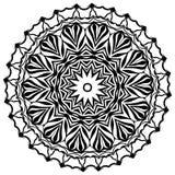 mandala Εθνικά διακοσμητικά στοιχεία διακοσμητικός τρύγος στ&o Ασιατική απεικόνιση σχεδίων Ισλάμ, Αραβικά, Ινδός, Τούρκος, π Στοκ Φωτογραφία