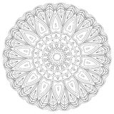 mandala Εθνικά διακοσμητικά στοιχεία διακοσμητικός τρύγος στ&o Ασιατική απεικόνιση σχεδίων Ισλάμ, Αραβικά, Ινδός, Τούρκος, π Στοκ εικόνες με δικαίωμα ελεύθερης χρήσης