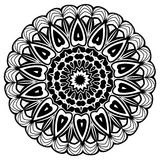mandala Εθνικά διακοσμητικά στοιχεία διακοσμητικός τρύγος στ&o Ασιατική απεικόνιση σχεδίων Ισλάμ, Αραβικά, Ινδός, Τούρκος, π Στοκ φωτογραφία με δικαίωμα ελεύθερης χρήσης