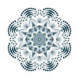 Mandala ημίτονο Στοκ Εικόνες