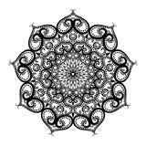 mandala διακοσμητικός τρύγος στ&o Στοκ φωτογραφία με δικαίωμα ελεύθερης χρήσης