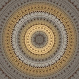 mandala διακοσμητικό ινδικό πρότυ&p Στοκ φωτογραφία με δικαίωμα ελεύθερης χρήσης