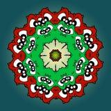 mandala διακοσμητικό διανυσματική απεικόνιση