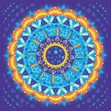 mandala διακόσμηση γύρω από το διάν&upsil Στοκ Εικόνες