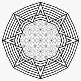 mandala διακόσμηση γύρω από το διάν&upsil ελεύθερη απεικόνιση δικαιώματος
