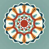 Mandala, διανυσματικό Mandala, floral mandala, mandala λουλουδιών, ασιατικό mandala, mandala χρωματισμού Στοκ φωτογραφία με δικαίωμα ελεύθερης χρήσης