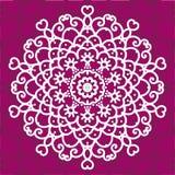 mandala Κυκλική διακόσμηση προτύπων Στοκ φωτογραφία με δικαίωμα ελεύθερης χρήσης