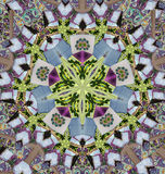 Mandala με τα copybooks Στοκ Φωτογραφία