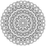 Mandala με τις καρδιές Στοκ φωτογραφίες με δικαίωμα ελεύθερης χρήσης