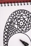 Mandala με τον κατασκευαστή Στοκ φωτογραφία με δικαίωμα ελεύθερης χρήσης