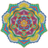 Mandala μωσαϊκών στοκ φωτογραφίες