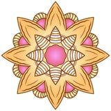 Mandala μόδας Διανυσματική απεικόνιση