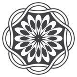 Mandala στο εσωτερικό ύφος Στοκ φωτογραφία με δικαίωμα ελεύθερης χρήσης